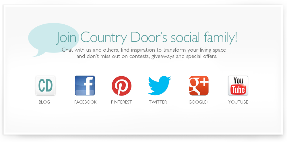 Join the Country Door Social Family