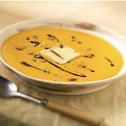 Calabaza Soup With Wisconsin Limburger Cheese