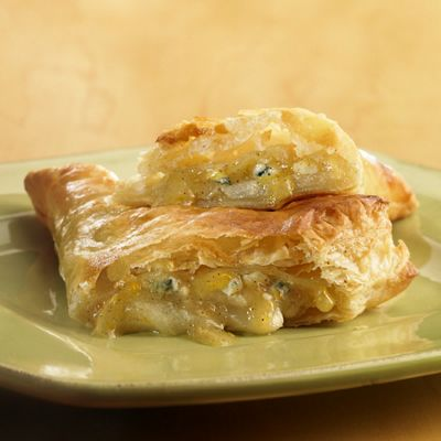 Caramelized Pear-Wisconsin Blue Cheese Empanadas