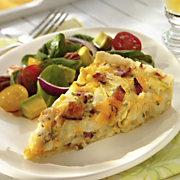 Wisconsin Cheddar Onion And Bacon Tart