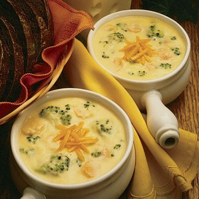 Wisconsin Colby-Swiss Cheese Soup