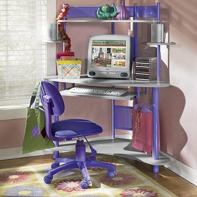 'Cool Colors' Desk and Chair