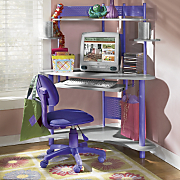 Cool Colors Computer Desk And Chair