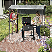 Grill Gazebo and 24 Inch Charcoal Grill