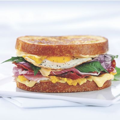 Gourmet Grilled Ham & Cheese with Wisconsin Swiss