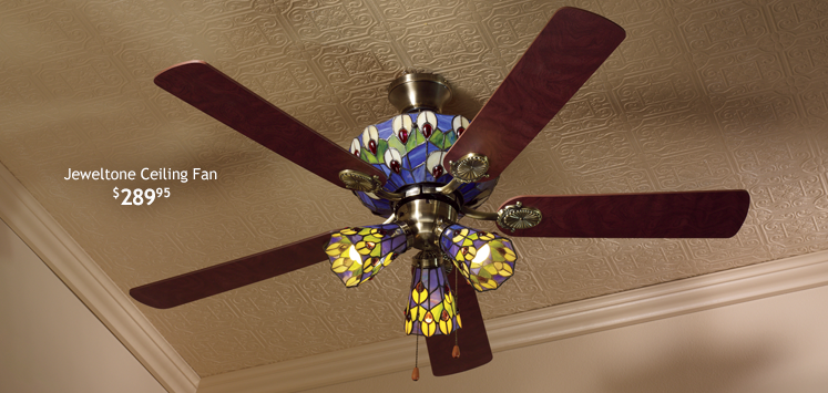 Jeweltone Ceiling Fan