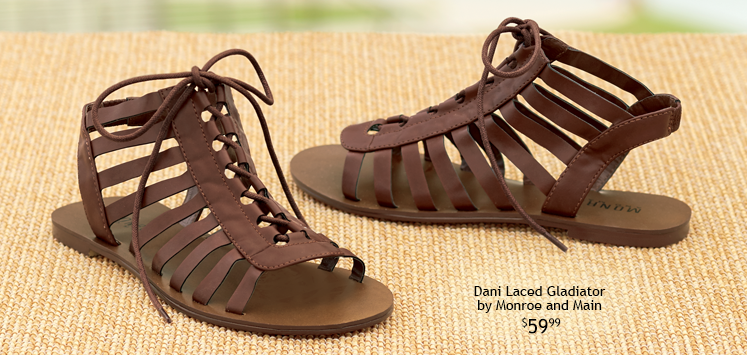 Dani Laced Gladiator by Monroe and Main