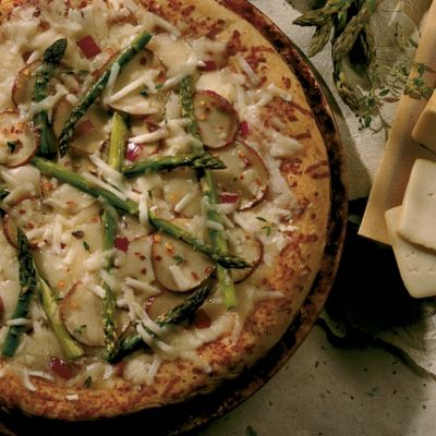 Wisconsin Limburger Vegetable Pizza