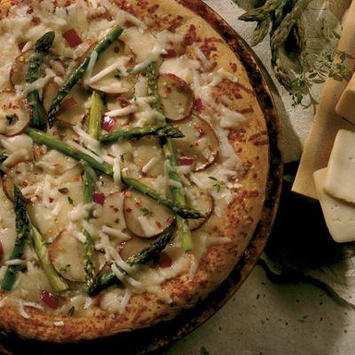 Wisconsin Limburger Vegetable Pizza