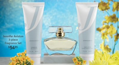 Jennifer Aniston 3-piece Fragrance Set