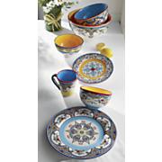 Zanzibar Dinner Plate, Salad Plates, Bowls, Mugs and Serving Bowls