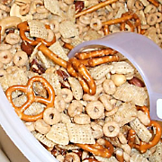 Grandmas Party Mix Recipe