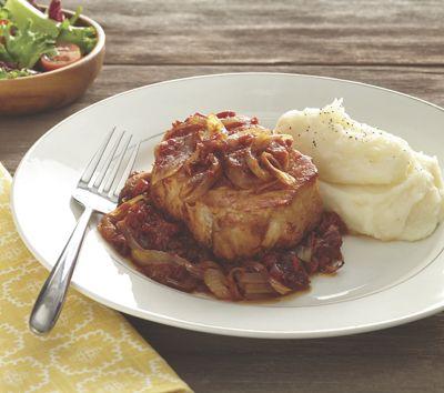 Sunday Pork Chops<br /><em><font color=#6666CC>Taste Testers&#39; Top Choice&#33;</font></em>