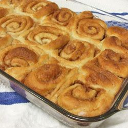 Wonderful Cinnamon Rolls