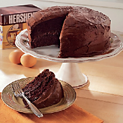 Cocoa Cake and Cocoa Fudge Frosting