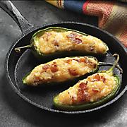 Open Face Jalapeno Poppers