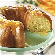 Sunshine Glow Apricot Cake