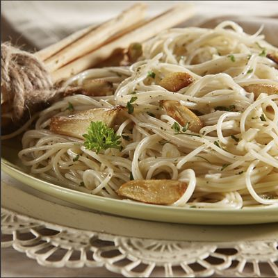 Garlic and Oil Pasta