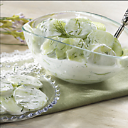 Cucumber Dill Side Dish