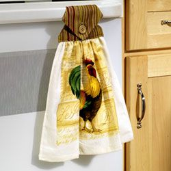 Making a Hanging Fingertip Towel