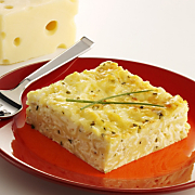 Noodle Pudding With Wisconsin Emmentaler Swiss Cheese