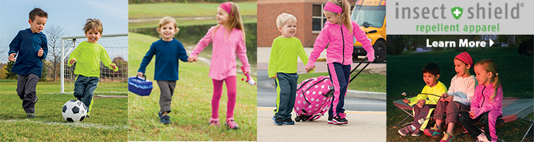 Bug Smarties Insect Repellent Clothing for Kids