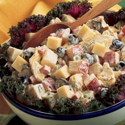 Provolone Potato Salad Blitz