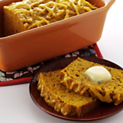 Indian Spiced Pumpkin Bread With Wisconsin Colby