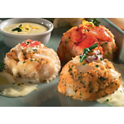 Crab, Lobster, and Scallop Cakes