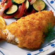 Lemon Breaded Cod Fillets