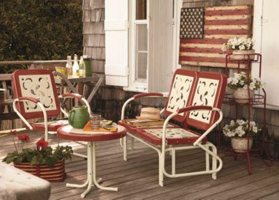 Retro Lawn Furniture