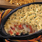 Hearty Havarti Reuben Potato Casserole