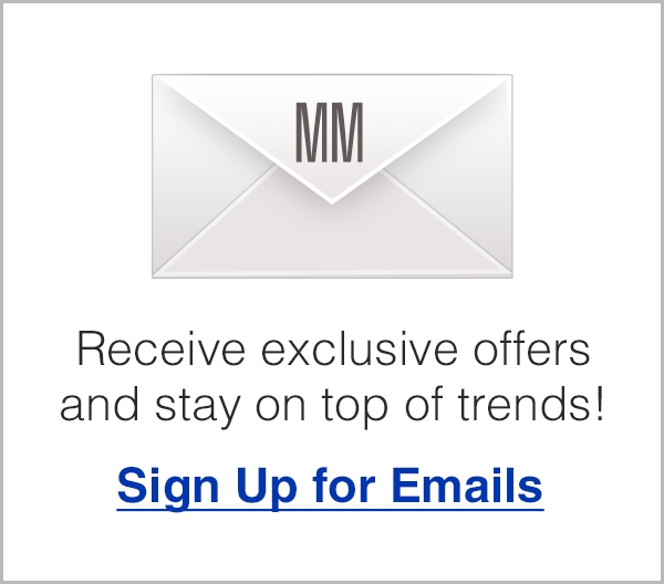 Sign up for Emails