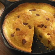 Wisconsin Cheddar and Hickory Smoked Bacon Cornbread