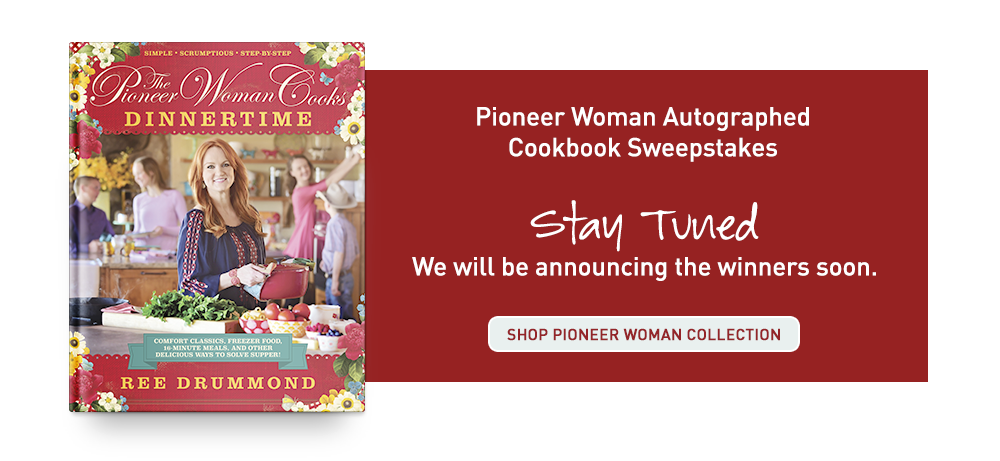 Shop Pioneer Woman Collection while you wait
