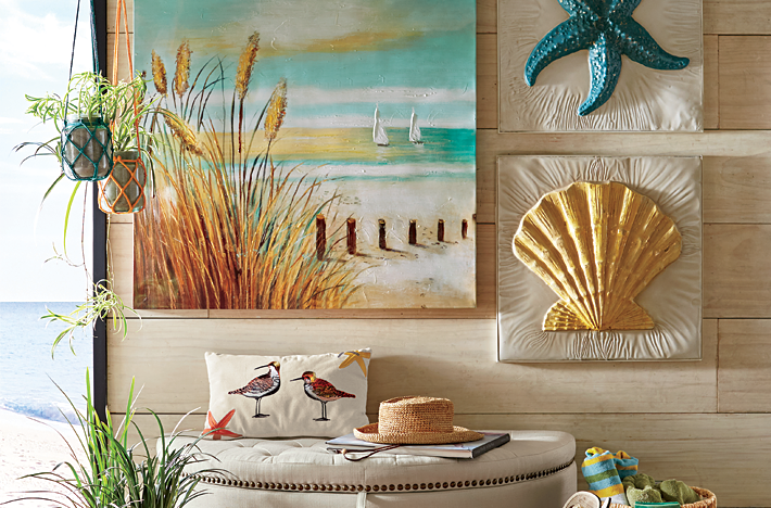 Canvas Beach Art