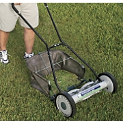 Push Lawnmower And Attachments