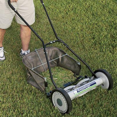 Push Lawnmower, Grass Catcher, Sharpening Kit