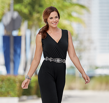 Chic Meets Comfort. One easy piece equals endless figure flattery. Shop Jumpsuits
