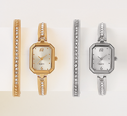 A Matter of Time  - Treat yourself to a little wrist candy. Shop Watches