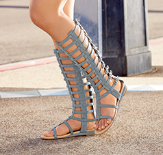 Strap Stars  - Step into the spotlight with this trendy look. Shop Gladiators