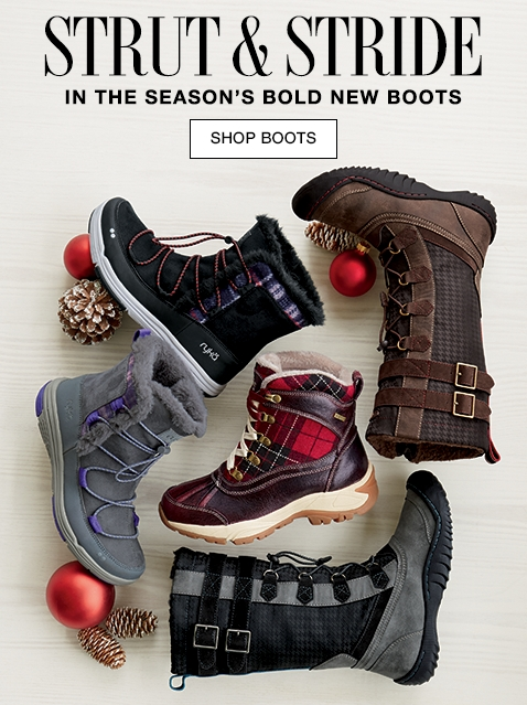 Strut & Stride In The Season's Bold New Boots