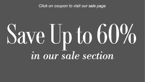 Save up to 60% in our sale section!