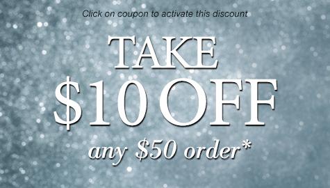 $10 Off $50 Order