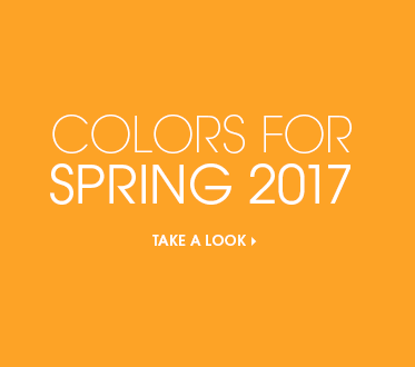 Colors for Spring 2017  - Take a Look