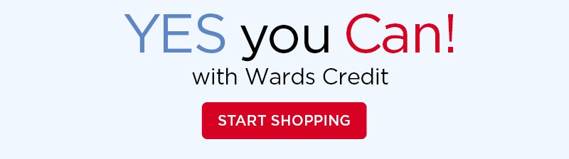 Yes You Can! With Wards Credit