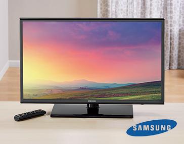 "48"" LED HDTV by Samsung"