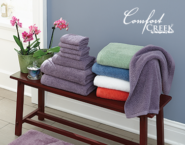 Comfort Creek 8-*pc. Chenille Towel Set by Montgomery Ward