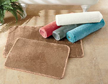 Spa Velvet 2-pc. Bath Mat Set