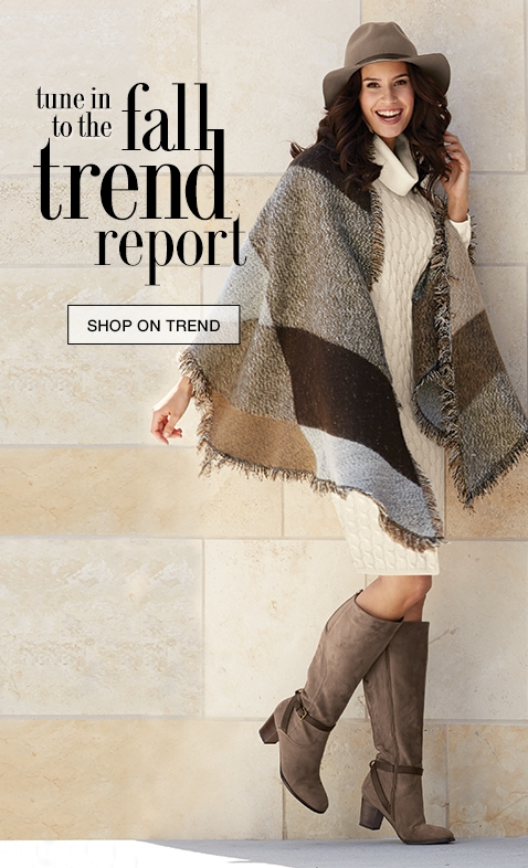 Tune In To The Fall Trend Report
